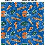 Florida Gators Cotton Fabric with New Tone ON Tone Design Newest Pattern