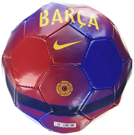 Nike Skills-FC Barcelona Balón, Unisex Adulto, Azul (Game Royal ...