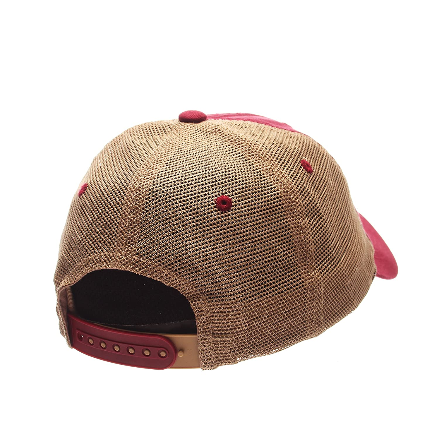 NCAA Zephyr Boston College Eagles Mens University Relaxed Hat Team Color//Stone Adjustable