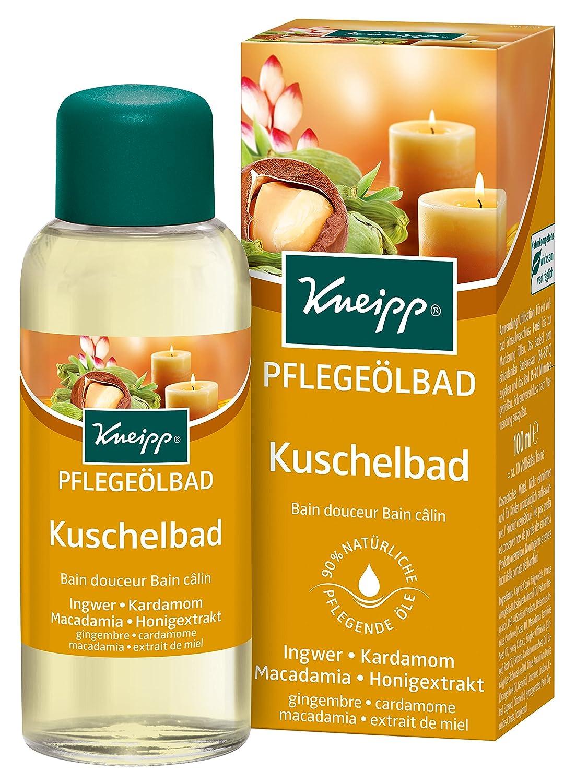 Kneipp Pflegebad Kuschelbad Ingwer, Kardamom & Macadamia, 1er Pack (1 x 100 ml) 2273