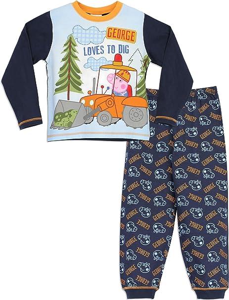 Peppa Pig - Pijama para Niños - George Pig - 3 a 4 Años ...