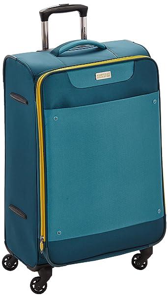 American Tourister Maletas y Trolleys, 69 cm, 68 L, Azul: Amazon.es: Ropa y accesorios