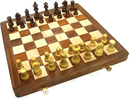 Ages Behind Wooden Chess 14 with Wooden Coins Home Decor Gift Toy