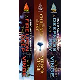 The Zones of Thought Series: (A Fire Upon the Deep, The Children of the Sky, A Deepness in the Sky)