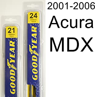 "product image for Acura MDX (2001-2006) Wiper Blade Kit - Set Includes 24"" (Driver Side), 21"" (Passenger Side) (2 Blades Total)"