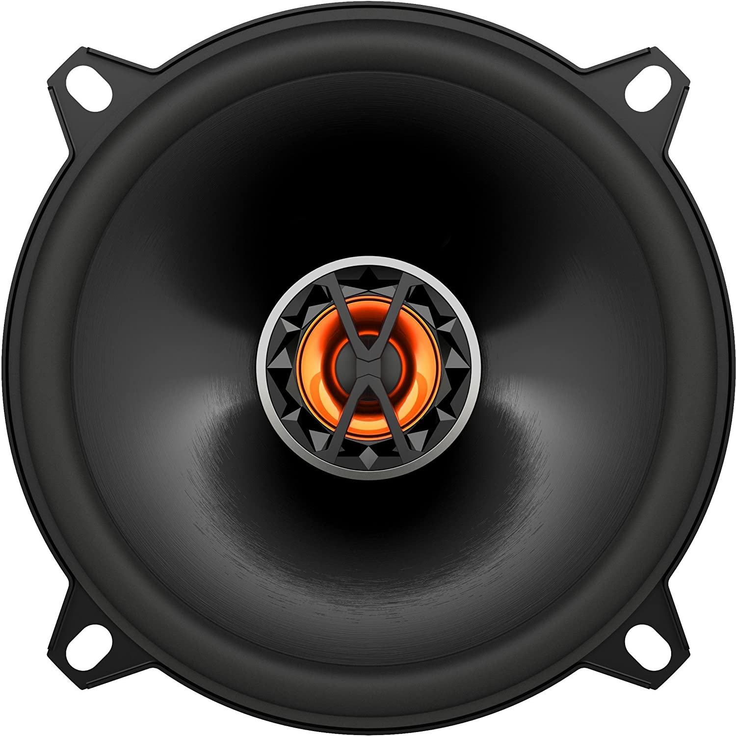 JBL Club 6520 - Altavoces coaxiales de automó vil (150 W RMS, 160 mm, membrana Plus One), color negro Harman Kardon