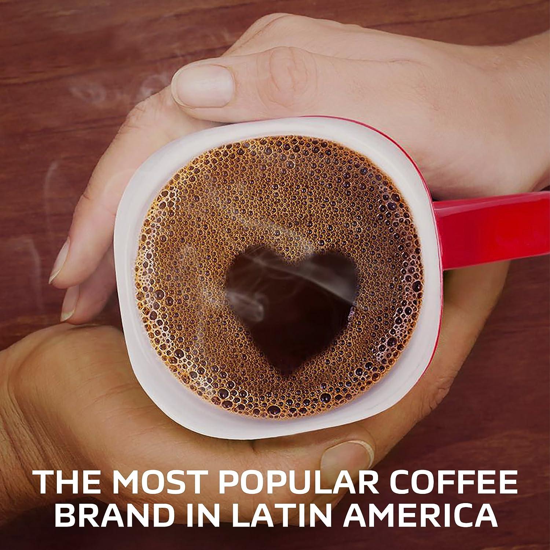 Amazon.com : Nescafé Clásico Dark Roast Ground Coffee Pods - Bold, Flavorful Single Serve Dark Roast Coffee Made with 100% Arabica Beans, Compatible with ...