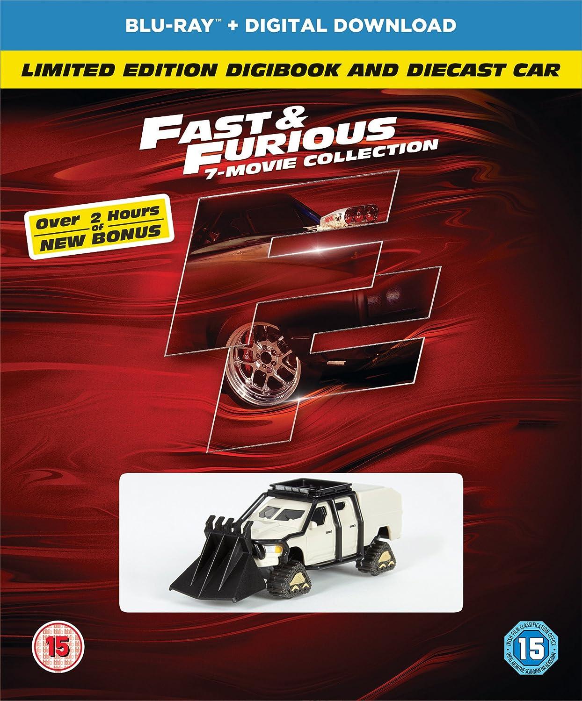 Fast & Furious 1 [Reino Unido] [Blu-ray]: Amazon.es: Cine y Series TV