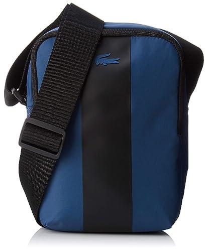 6721d524ac Lacoste homme Nh2664tk Sac porte epaule Bleu (Blue Wing Teal ...
