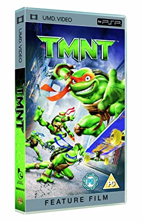 TMNT [UMD Mini for PSP] [Francia] [UMD Mini para PSP ...