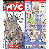 Streetsmart NYC Midtown Map by Vandam: Midtown Edition