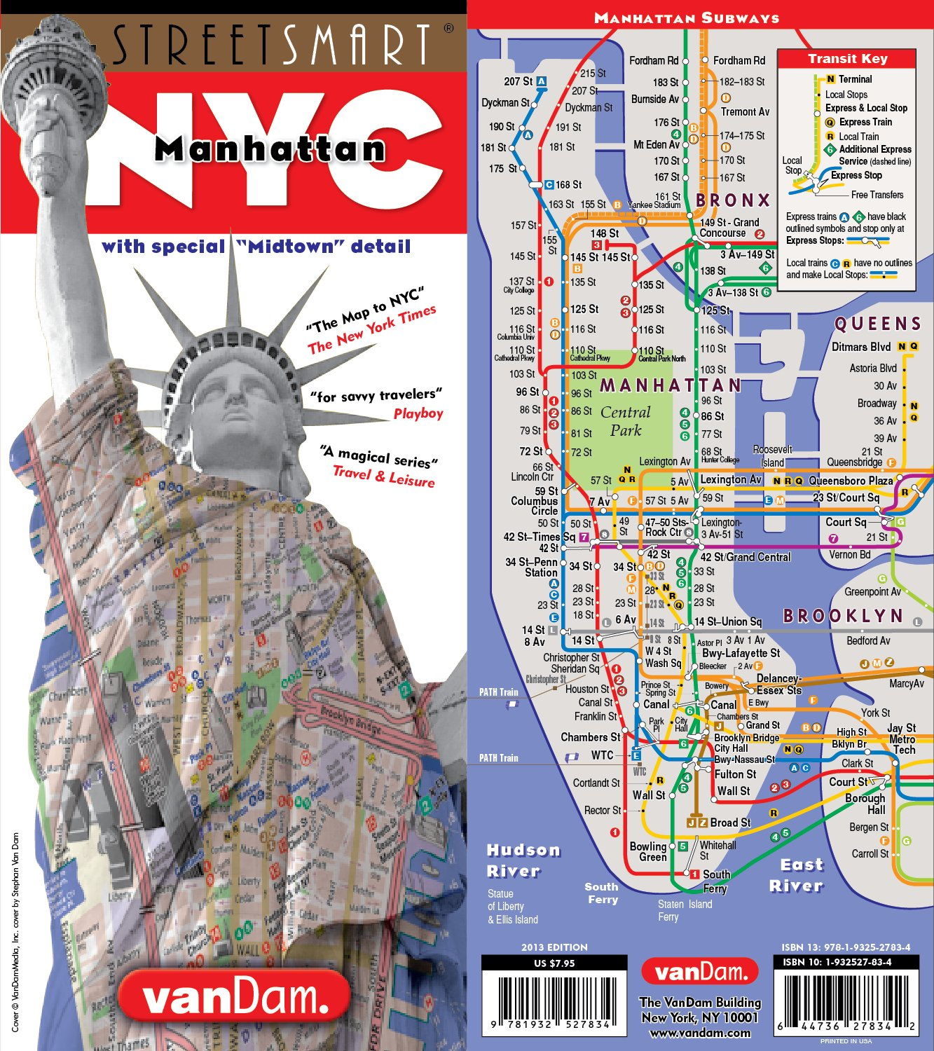 StreetSmart NYC Map Midtown Edition by VanDam-Laminated ... on map of amtrak train, map of new york city, new york sites and attractions, lower manhattan map and attractions, map of manhatten, map of east coast of usa with states, rome metro map with attractions, midtown manhattan attractions, central park attractions, dc metro map with attractions, san francisco map with attractions, porto map with attractions, map of things to do in nyc, ny city map with attractions, nyc attractions, map of mahattan, new york map with attractions, manhattan tourist attractions, map manhattan printable tourist stops, staten island attractions,