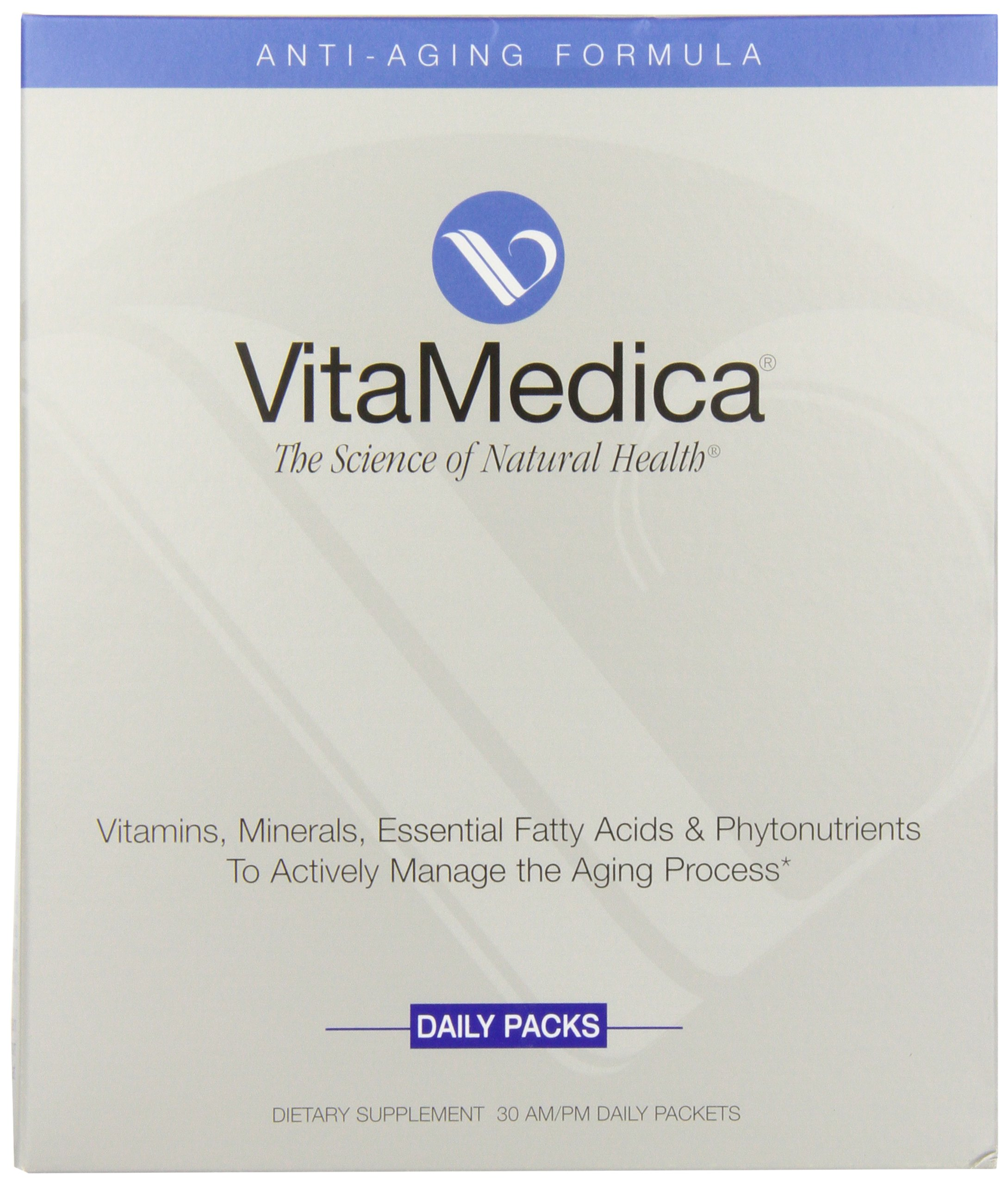 Vitamedica Anti-aging Formula Daily Supplements Packets, 30-Count