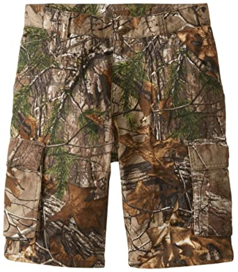 1a2fbd26c8 Amazon.com  Carhartt Big Boys  Camo Cargo Short  Clothing