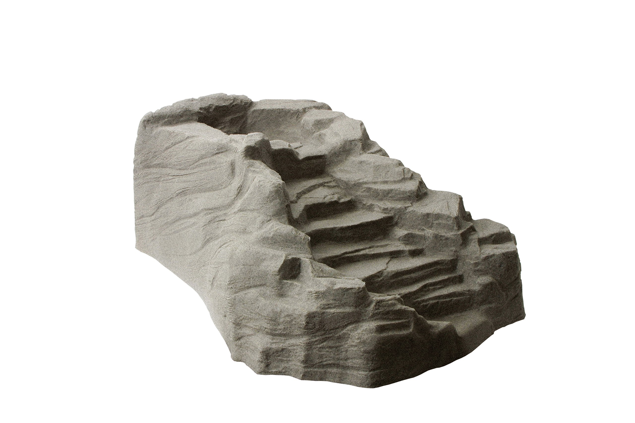 Algreen 91961 Waterfall Streamlet Watercourse, Taupe Stone