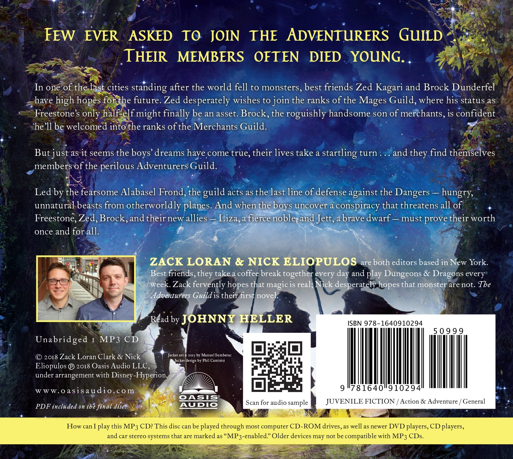 The Adventurers Guild: Amazon ca: Zack Loran Clark, Nick Eliopulos