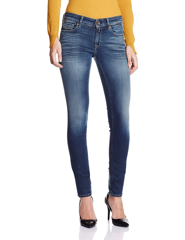 TALLA 28W / 32L. Replay Luz, Jeans Mujer