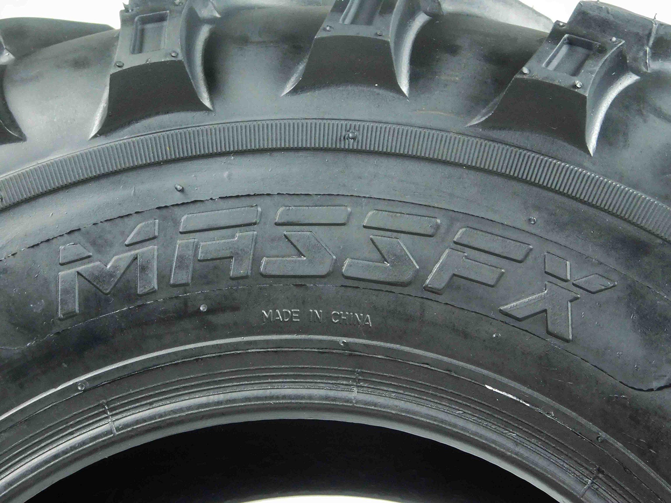 New Single MASSFX MS ATV/UTV Tire 26 x9-12 Front, 26x9x12 26x9/12 by MASSFX (Image #2)