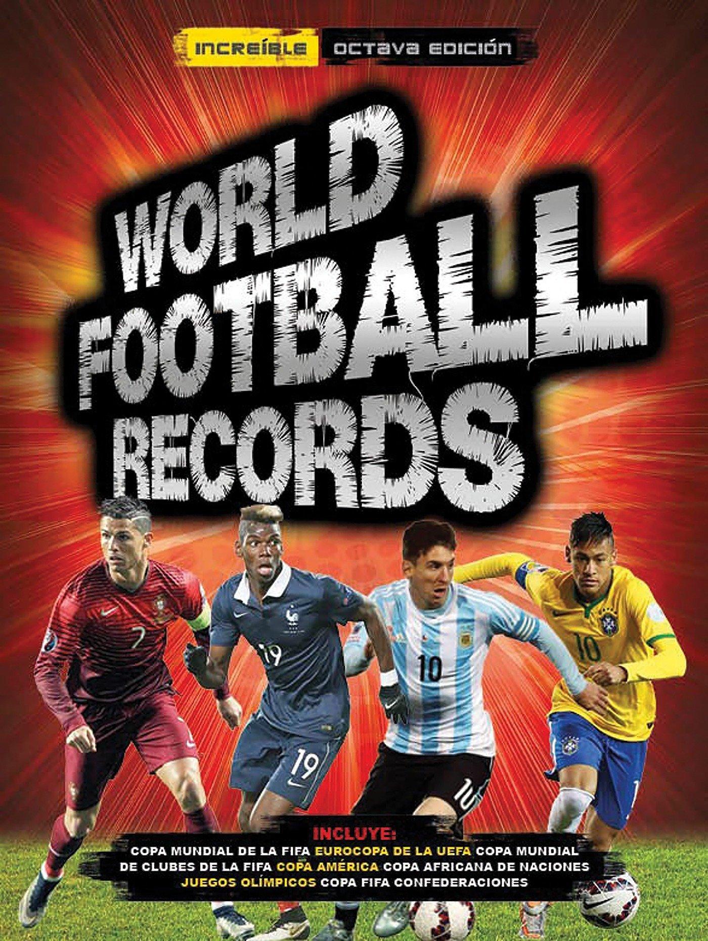 World Football Records Libro 2016 (Libros ilustrados): Amazon.es ...