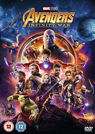 Image result for avengers infinity war dvd