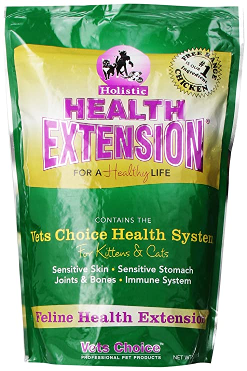 Amazon Com Health Extension Kitten And Cat 4 Pound Dry Pet Food