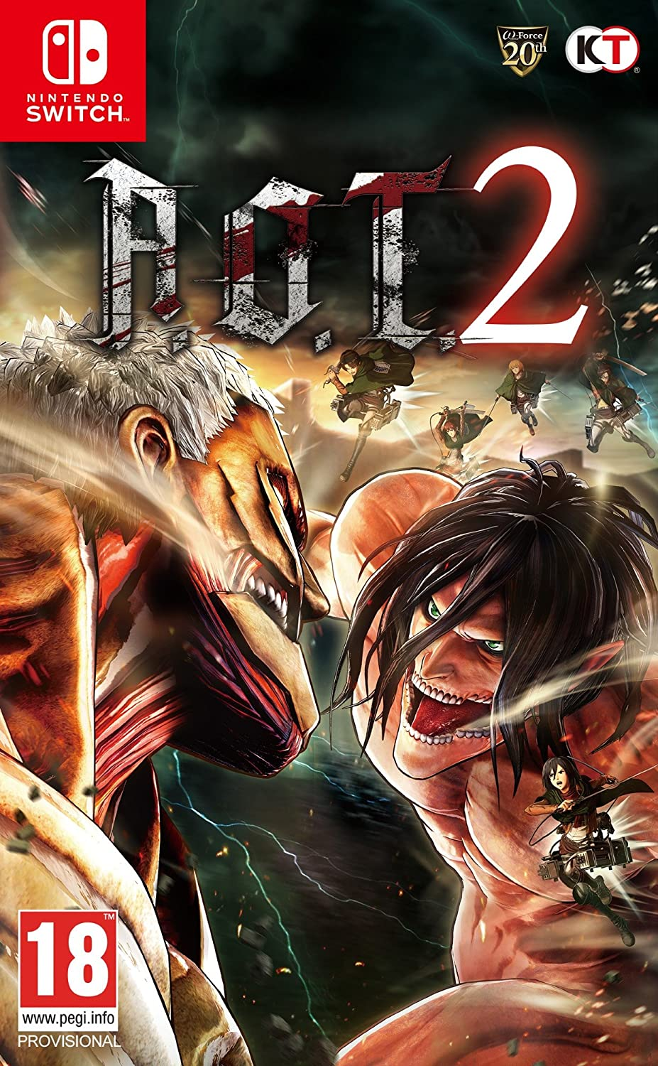 Attack On Titan 2, NINTENDO SWITCH: Amazon.es: Videojuegos