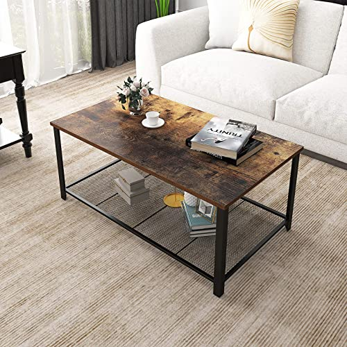 YITAHOME Industrial Coffee Table