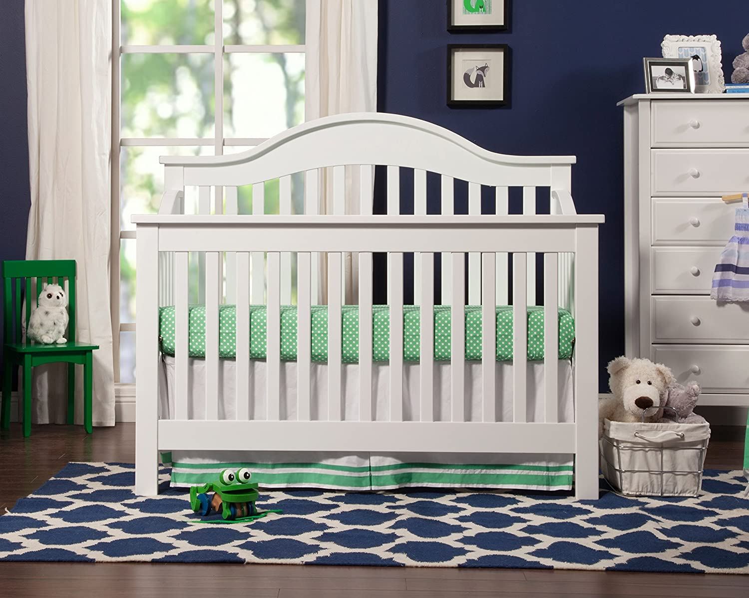 convertible kalani with review canada crib rail white toddler cribs in davinci