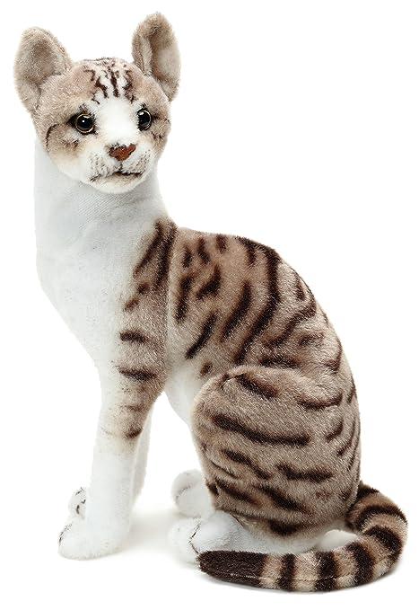 amazon com viahart amy the american shorthair cat 14 inch stuffed