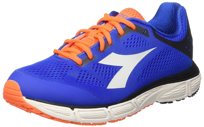 Diadora Action Plus - Entrenamiento y Correr Hombre 44.5 EU|Azul (Azzurro/Bianco)