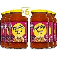 KAN TONG Cooking Sauce Sweet & Sour, 6 x 515g