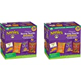 Annies Organic Variety Pack, Cheddar Bunnies and Bunny Graham Crackers Snack Packs, 36 Pouches, 1 oz Each FViFGD, 2 Pack
