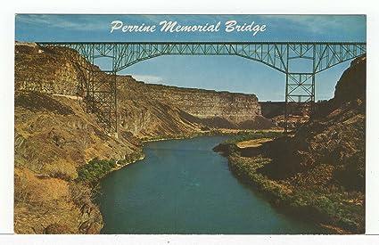 Amazoncom Perrine Memorial Bridge Twin Falls Idaho Vintage