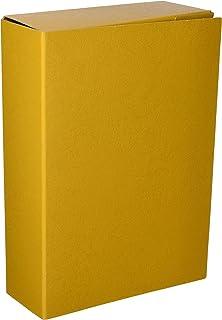 Mariola 22092 - Caja proyectos armada cartón con gomas L90 mm, color amarillo