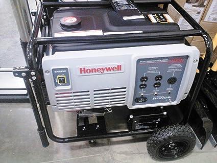 Honeywell 7000 Watt Generator GX390 Honda Engine Electric Start #HW7000EH