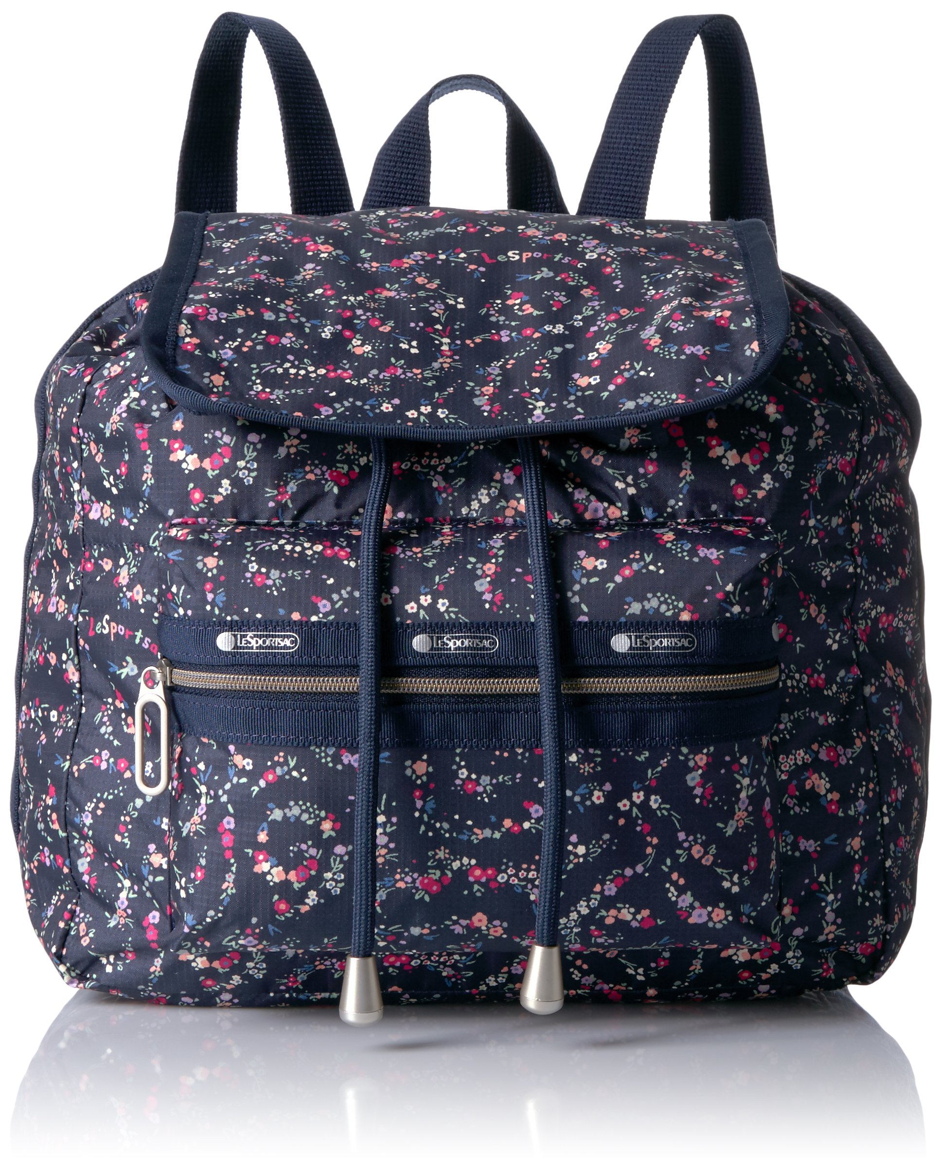 LeSportsac Women's Essential Mini Voyager, Fairy Floral Blue