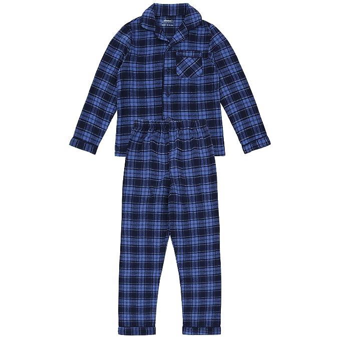 Pijama de cuadros azul PRIMARK - 1,5-2 Años 92 cm