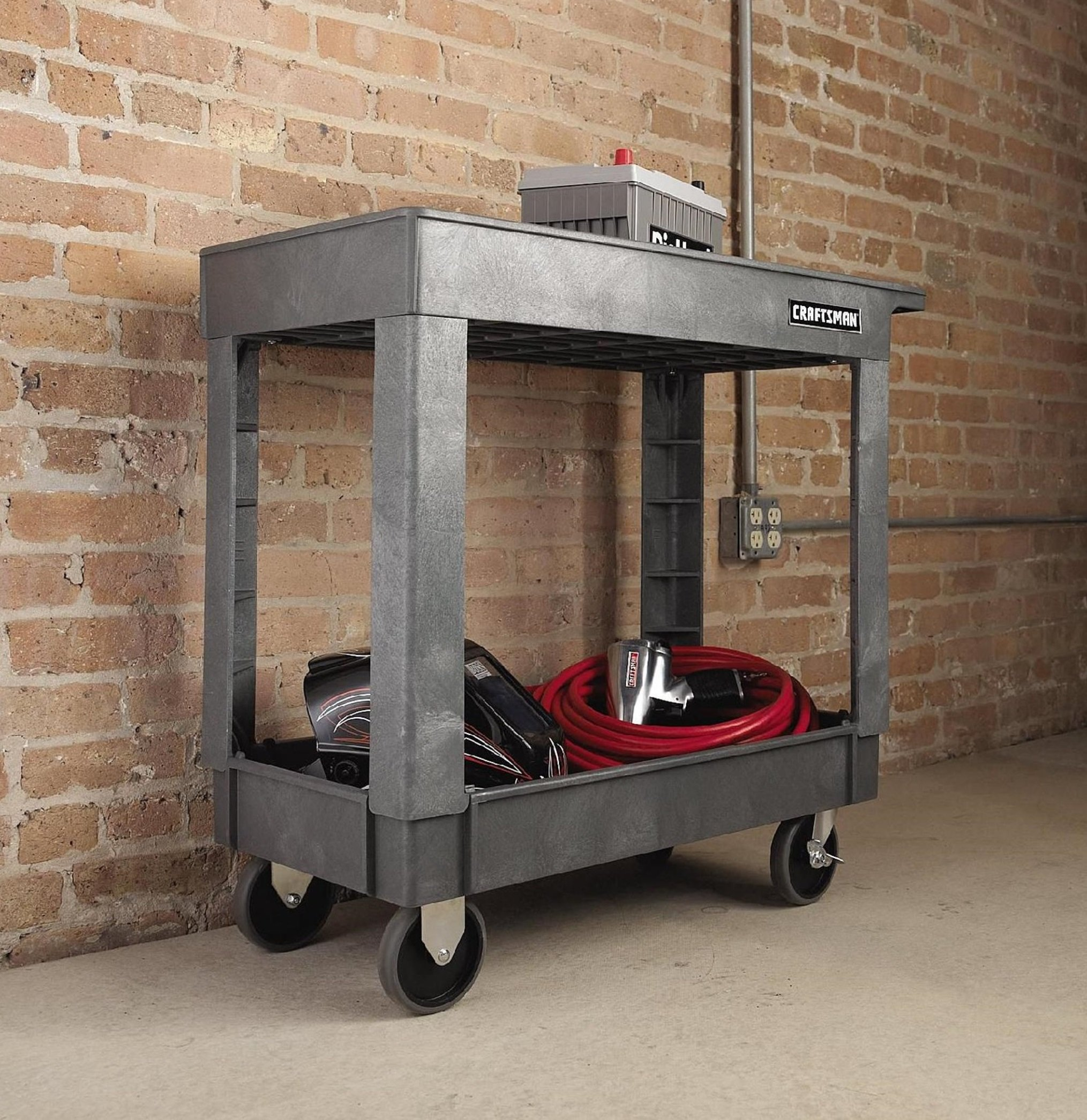 Work Bench Mobile Tool Cart