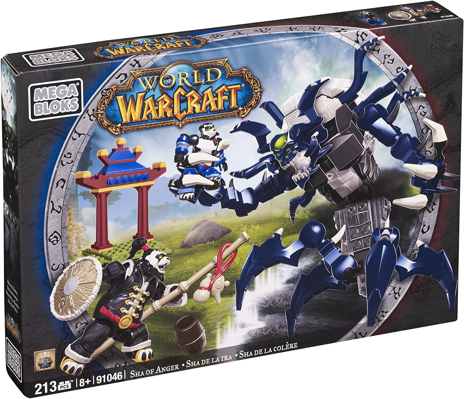 Mega Bloks 91046 World of Warcraft Panderia Sha: Amazon.es: Juguetes y juegos