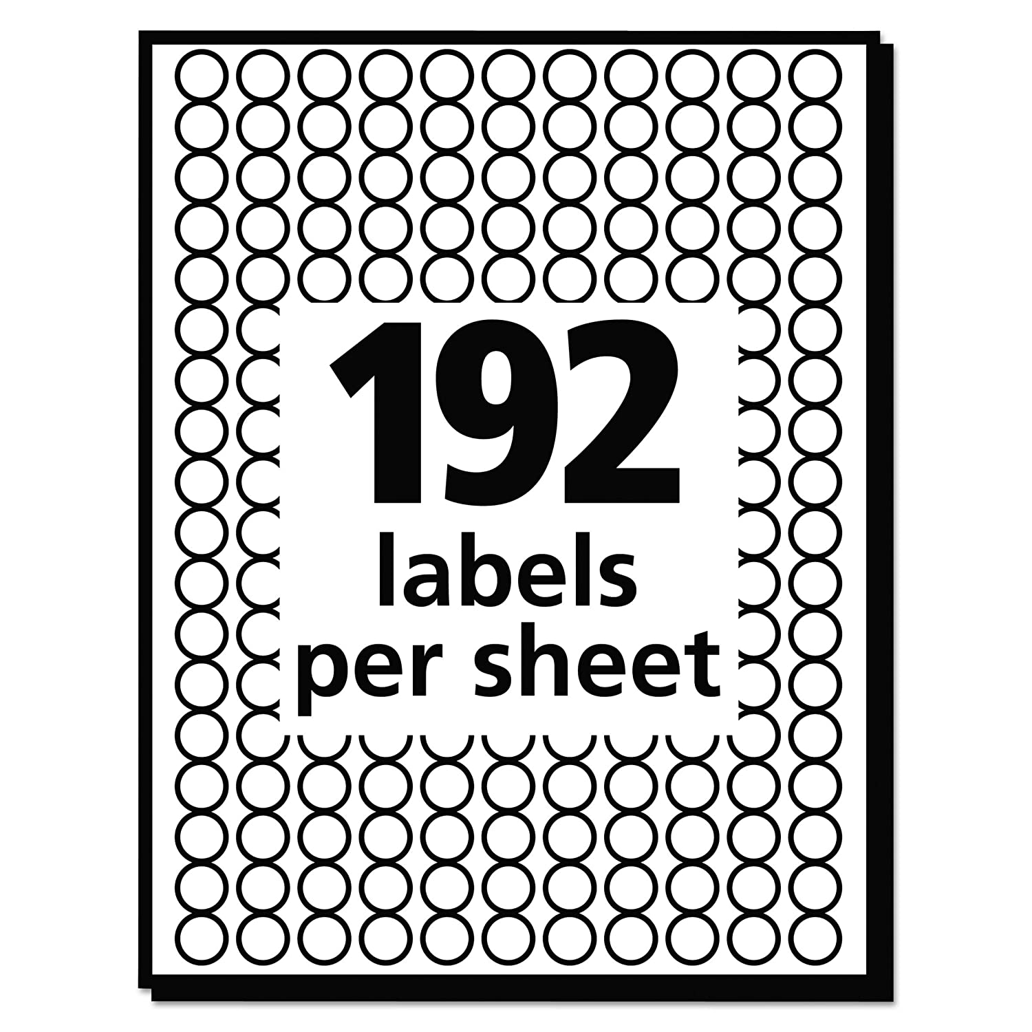 Amazon Avery Removable Color Coding Labels 0 25 Inches