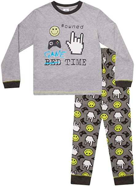 Pijama ThePyjamaFactory para niños de 8 a 15 años, con diseñ