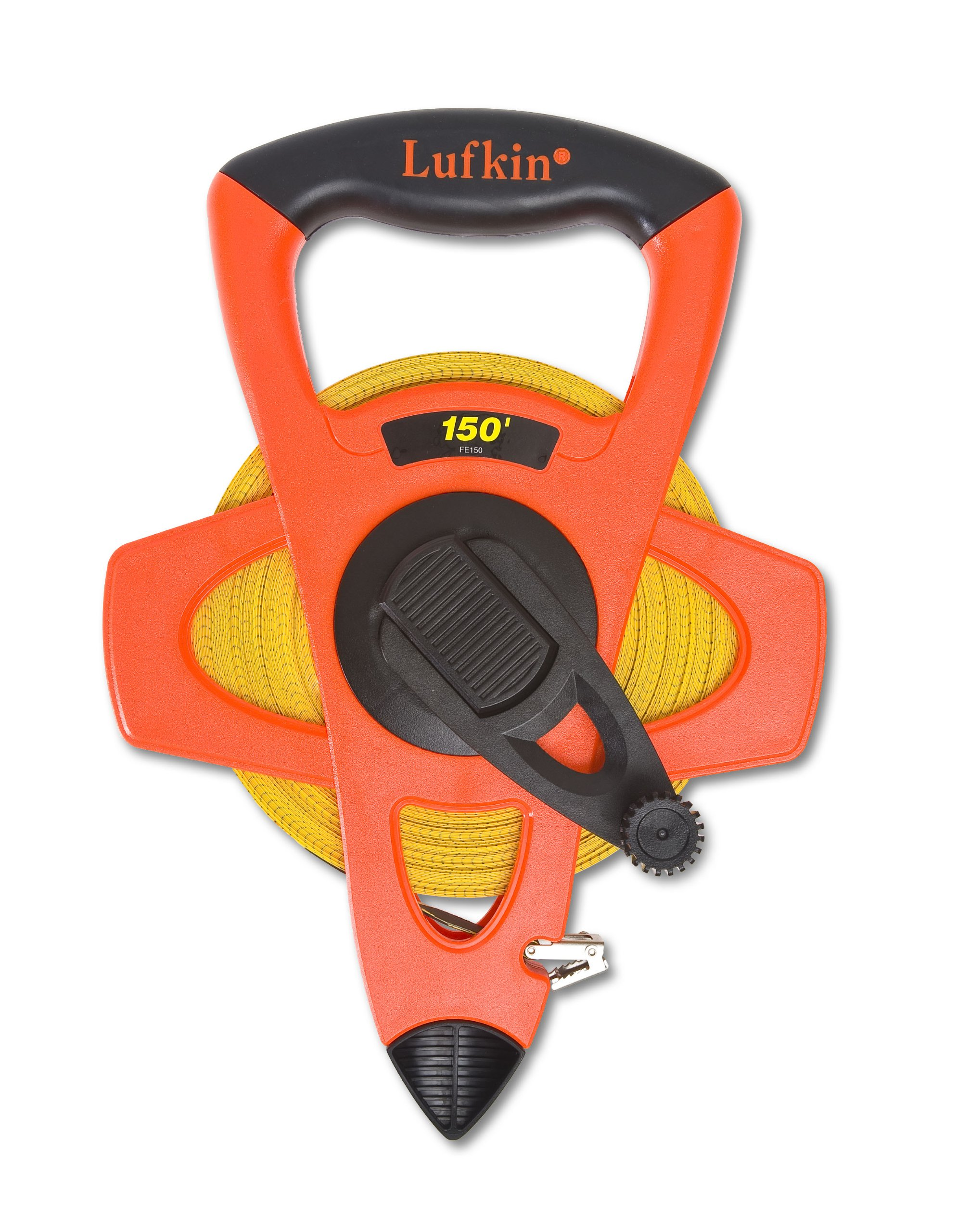 Lufkin FE150 1/2-Inch x 150-Foot Hi-Viz Orange Fiberglass Tape