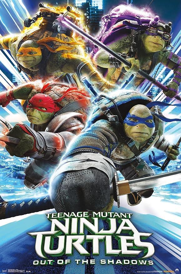 Tendencias Internacional Pared Póster Teenage Mutant Ninja ...