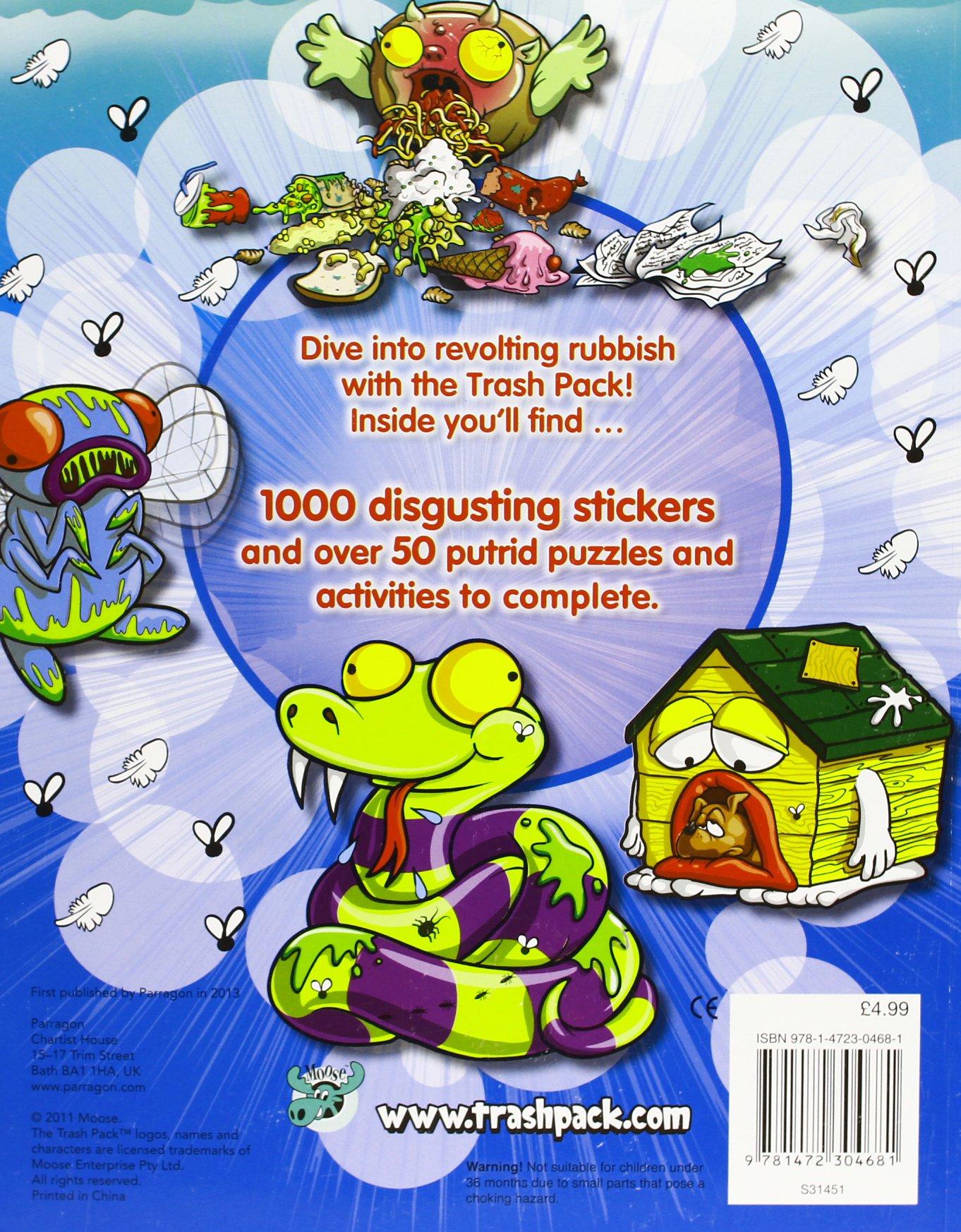 The Trash Pack: 1000 Stickers: Amazon.es: Libros en idiomas extranjeros