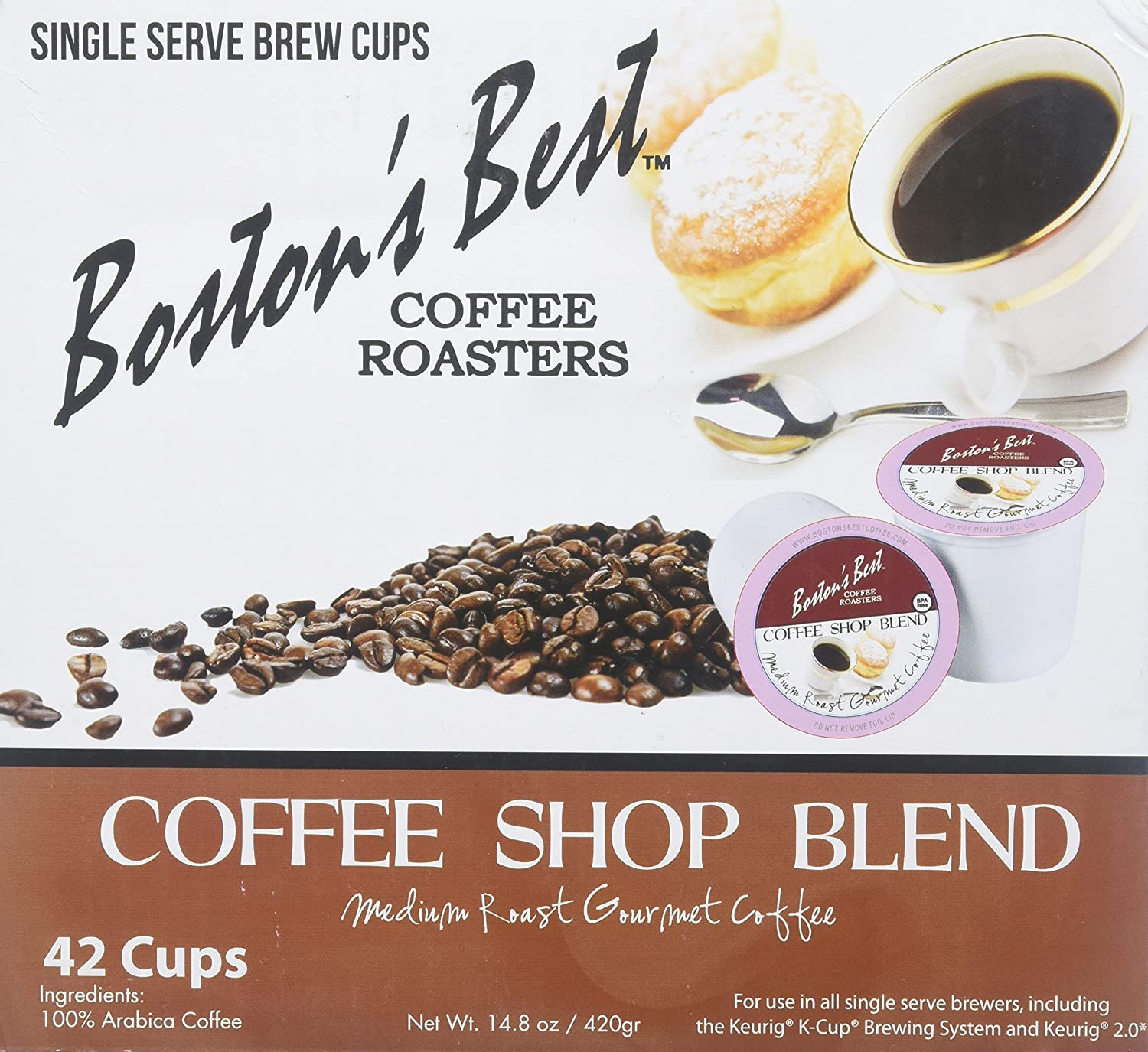 Bostons Best Single Serve K-Cup Coffee, Hawaiian Coconut, 42 Count: Amazon.com: Grocery & Gourmet Food