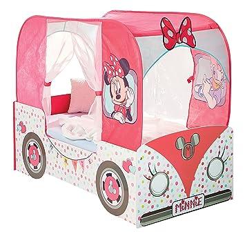 Lit Camping Car Minnie Mouse Pour Petite Fille Amazon Fr Cuisine