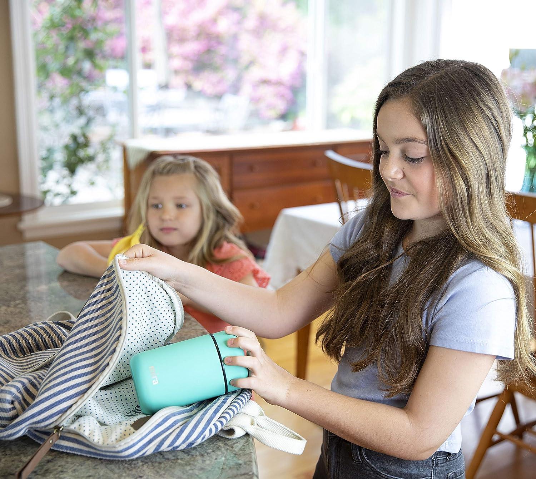 MIRA Bo/îte /à Lunch Bo/îte Thermos pour Aliments en Acier Inoxydable Isotherme Sous Vide Sarcelle 400 ml 13.5 oz