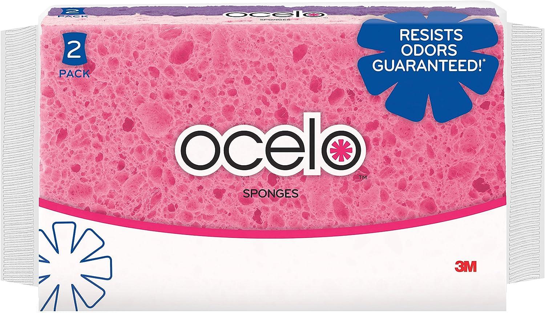 ocelo 7224-T Anti-Bacterial Medium Sponge