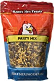 Happy Hen Treats Party Mix Seed And Mealworm, 2 Lb