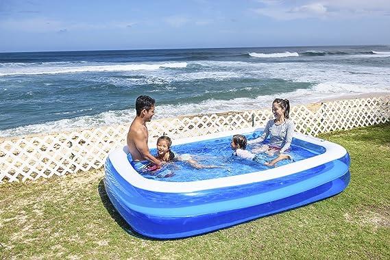 262x175x50cm Jilong géant piscine rectangulaire Piscine familiale